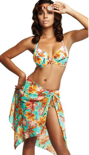 fantasie hula beach wrap