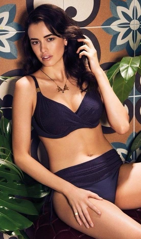 04121c308e Fantasie Montreal Tankini-Full Cup Bra-Swimsuit Black