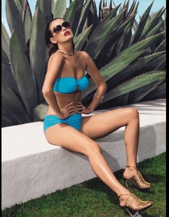 c3ad8e5dc19a4 Fantasie San Sebastian Bandeau Bikini Bra pant set promo pic