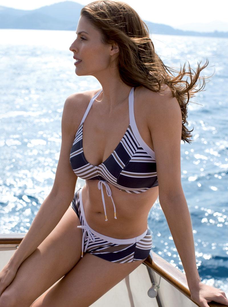 96a8615540dd PANACHE QUAYSIDE HALTERNECK BIKINI TANKINI swimwear RANGE JADE-CERISE